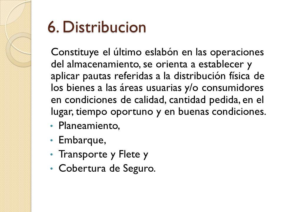 6. Distribucion