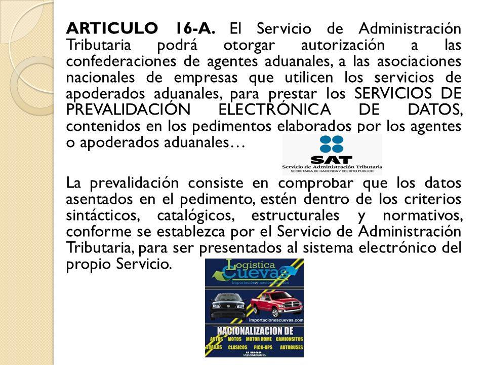 ARTICULO 16-A.