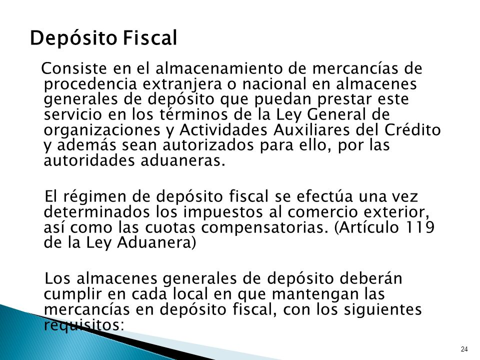 Depósito Fiscal