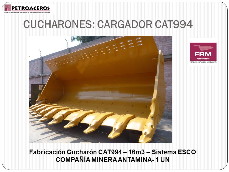 CUCHARONES: CARGADOR CAT994
