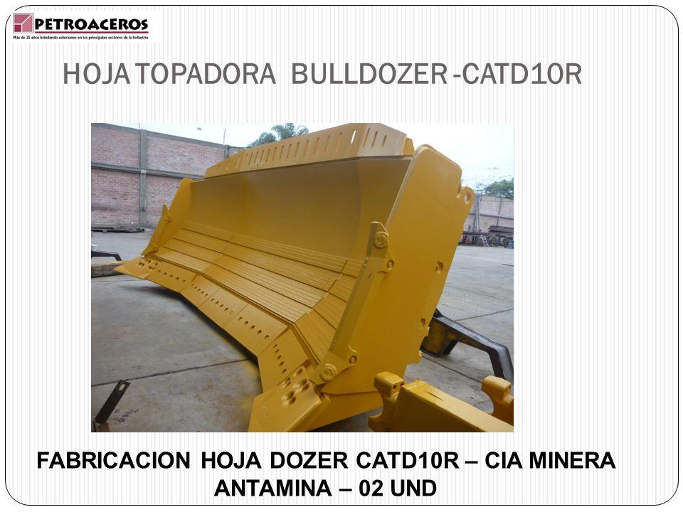 HOJA TOPADORA BULLDOZER -CATD10R