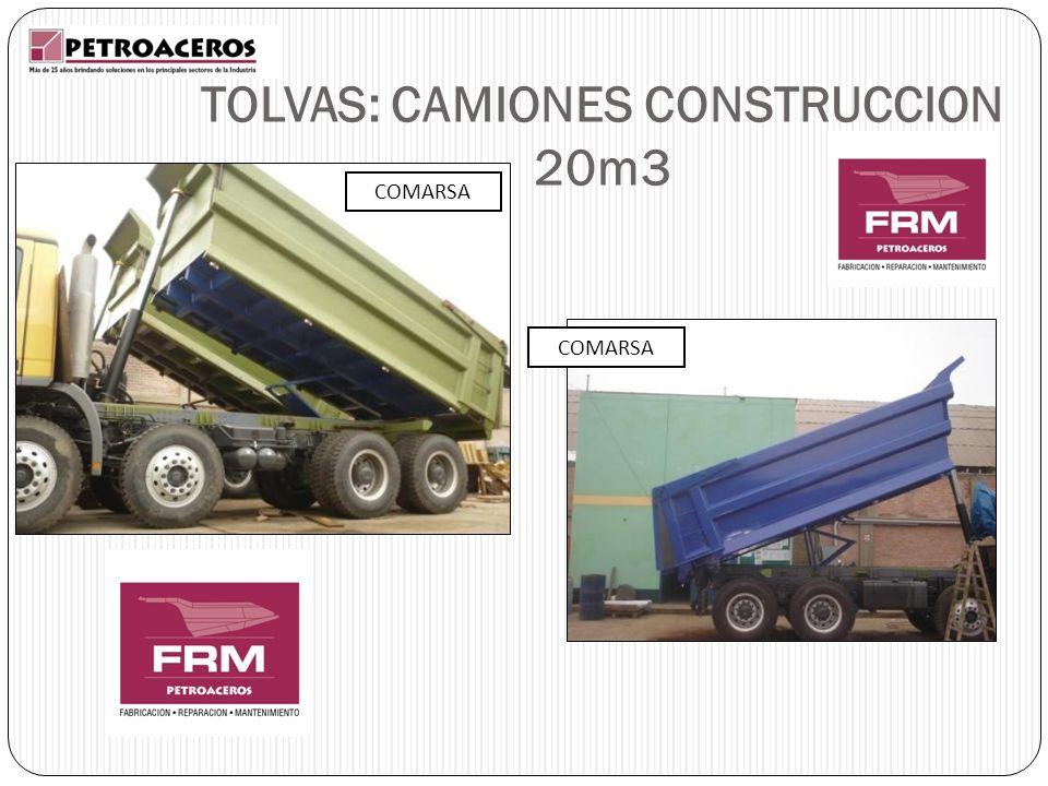 TOLVAS: CAMIONES CONSTRUCCION 20m3