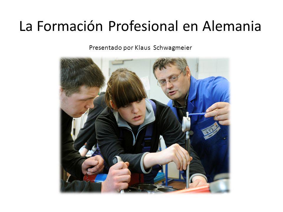 La Formación Profesional en Alemania
