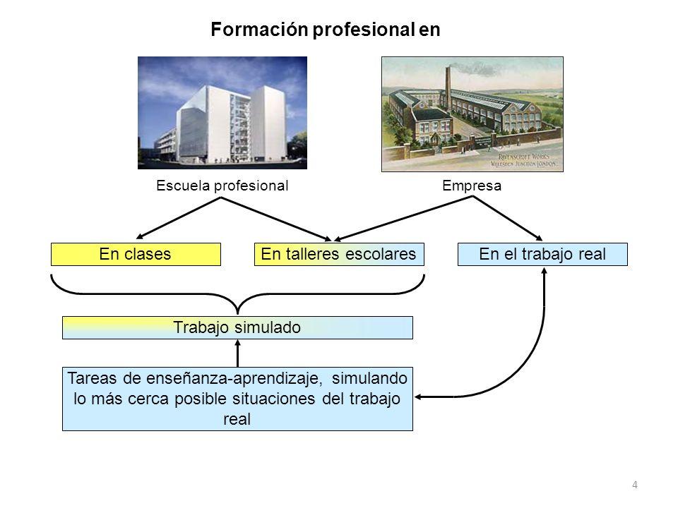 Formación profesional en