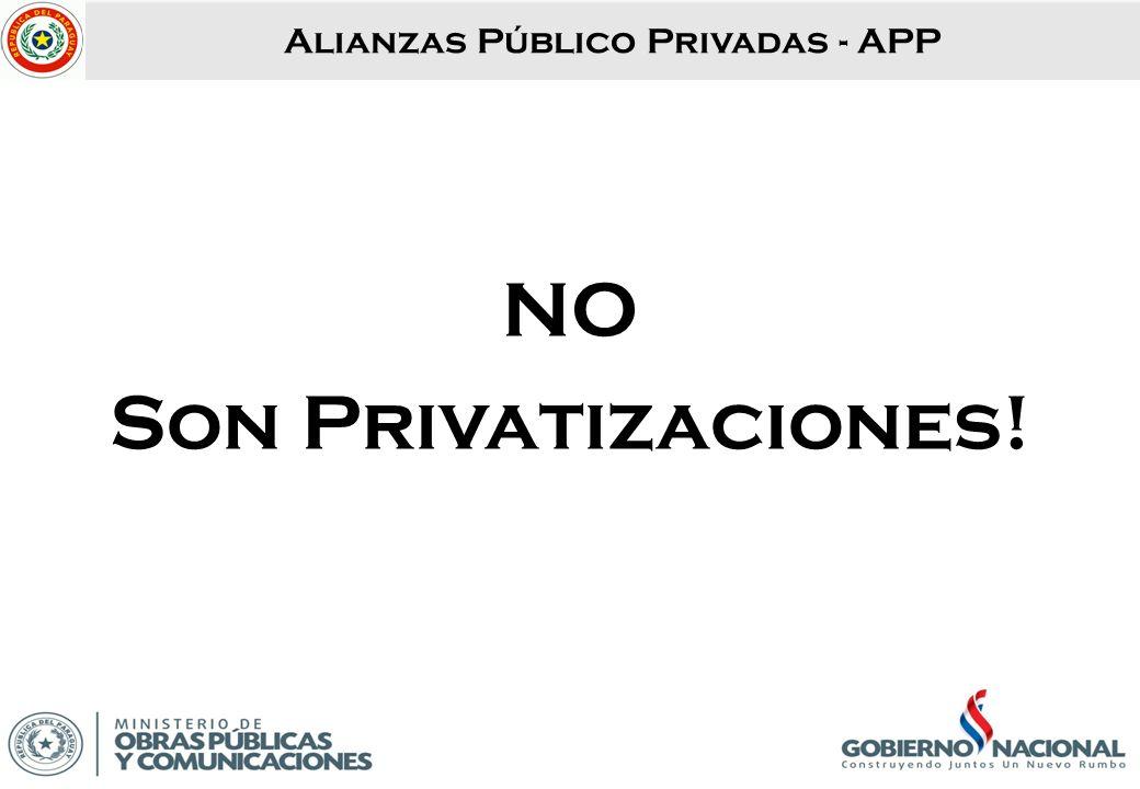 Alianzas Público Privadas - APP