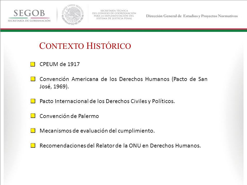 CONTEXTO HISTÓRICO CPEUM de 1917