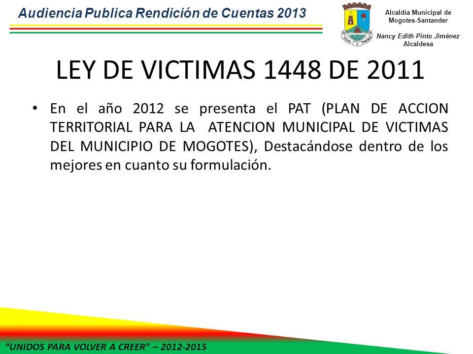 Alcaldía Municipal de Mogotes-Santander Nancy Edith Pinto Jiménez