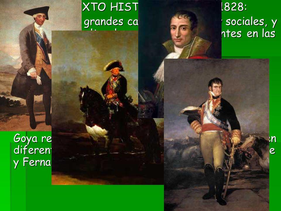 CONTEXTO HISTÓRICO: 1746 - 1828: