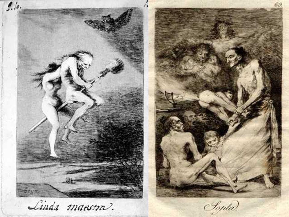 y también hay un grupo de crítica más compleja contra las supersticiones y el mundo de las brujas… ( Mucho hay que chupar ; Se repulen ; Linda maestra ; Soplan ,…)