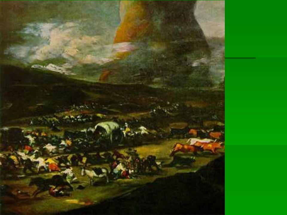 El gigante como símbolo de Napoleón, o simplemente de los horrores de la guerra