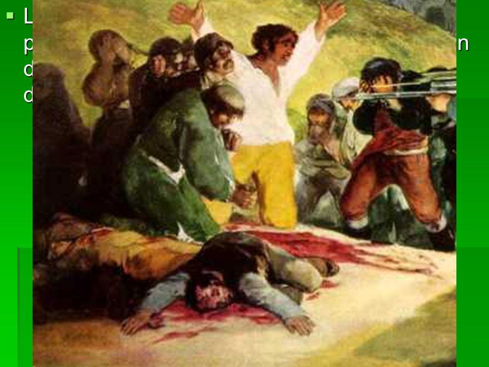 Los condenados están individualizados más por la acción que por la fisonomía y presentan distintas actitudes ante la muerte: desesperación, miedo, dolor.