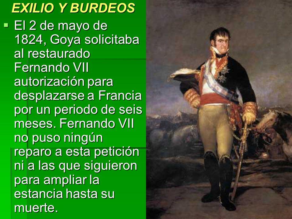 EXILIO Y BURDEOS