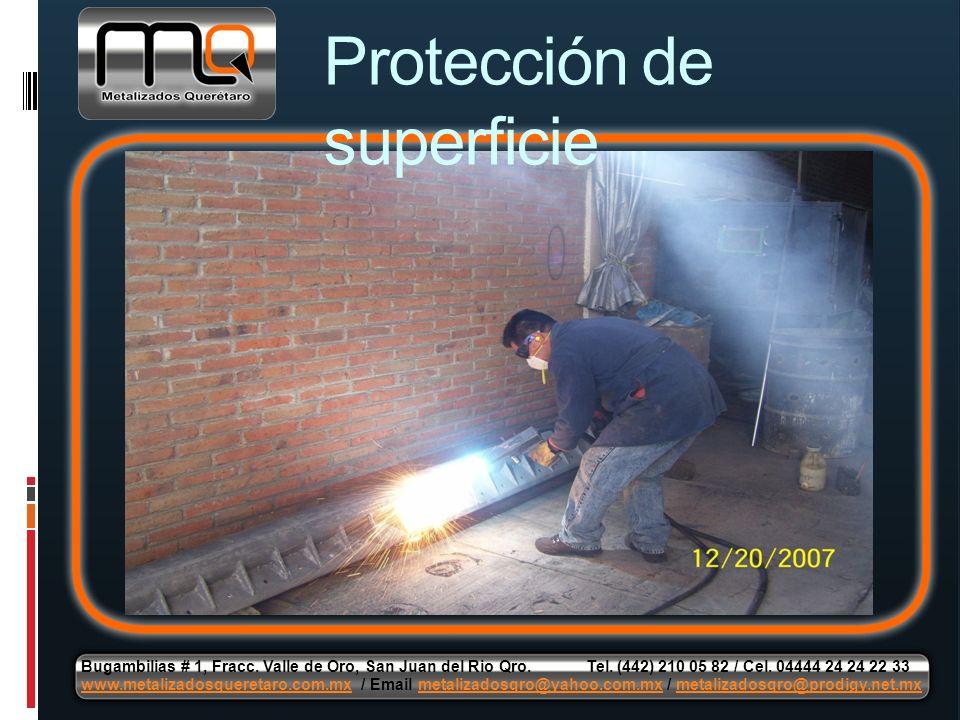 Protección de superficie
