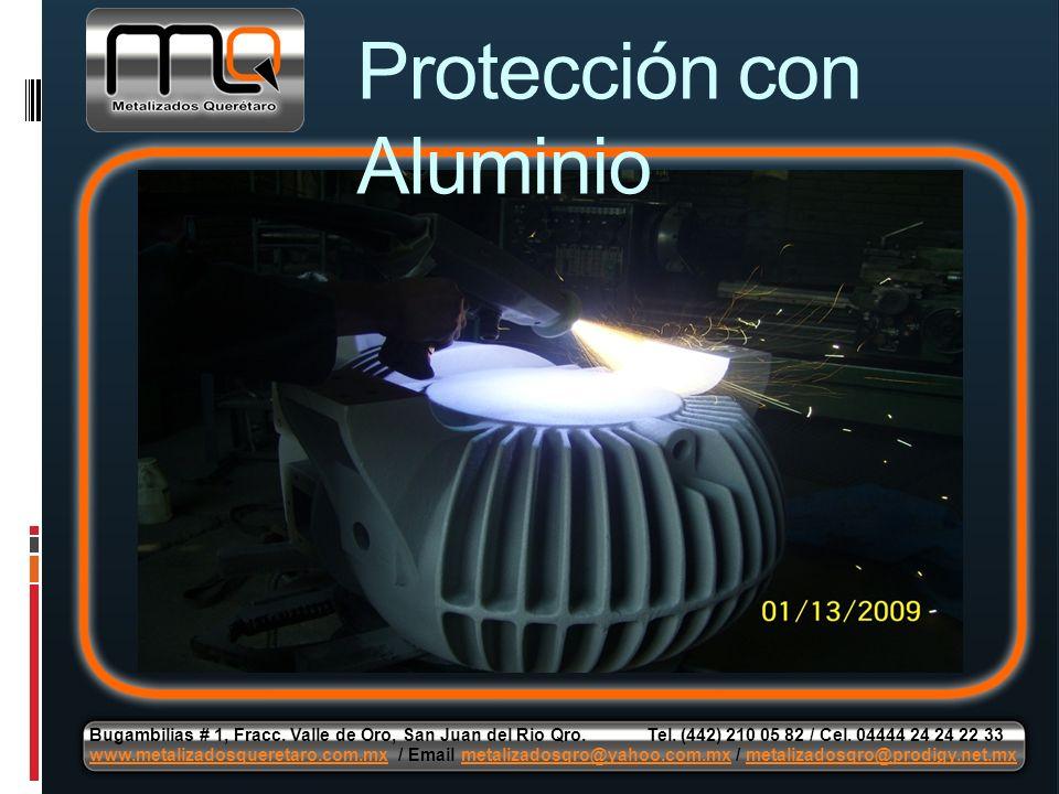 Protección con Aluminio
