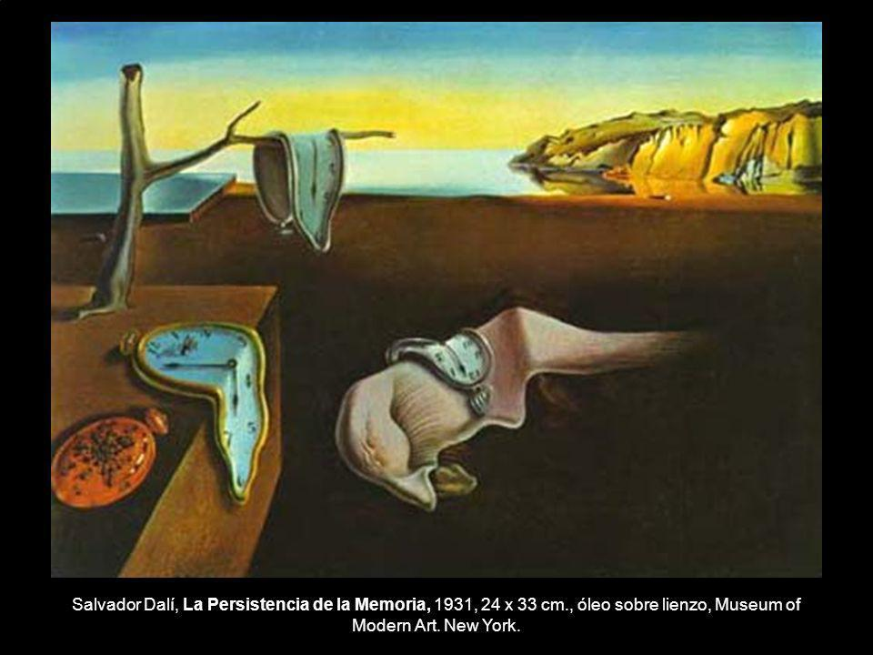 Salvador Dalí, La Persistencia de la Memoria, 1931, 24 x 33 cm