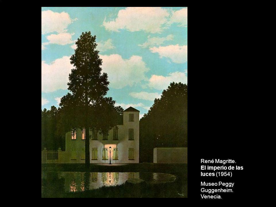 René Magritte. El imperio de las luces (1954)