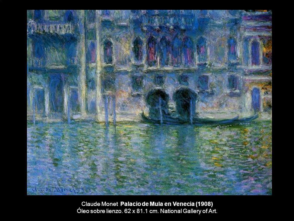 Claude Monet Palacio de Mula en Venecia (1908) Óleo sobre lienzo