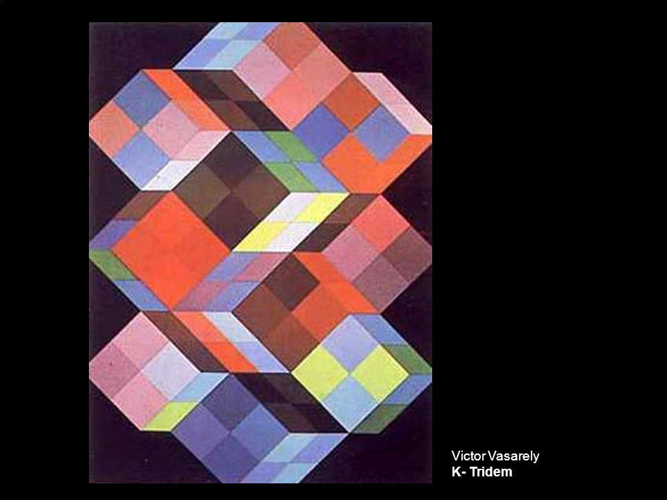Victor Vasarely K- Tridem
