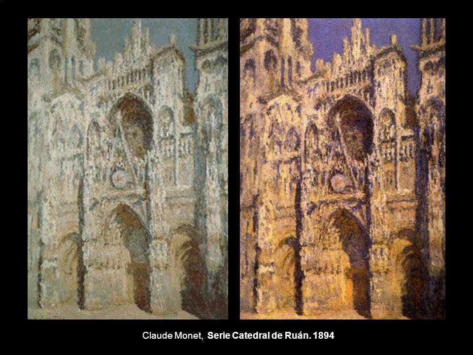 Claude Monet, Serie Catedral de Ruán. 1894