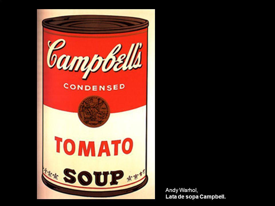Andy Warhol, Lata de sopa Campbell.
