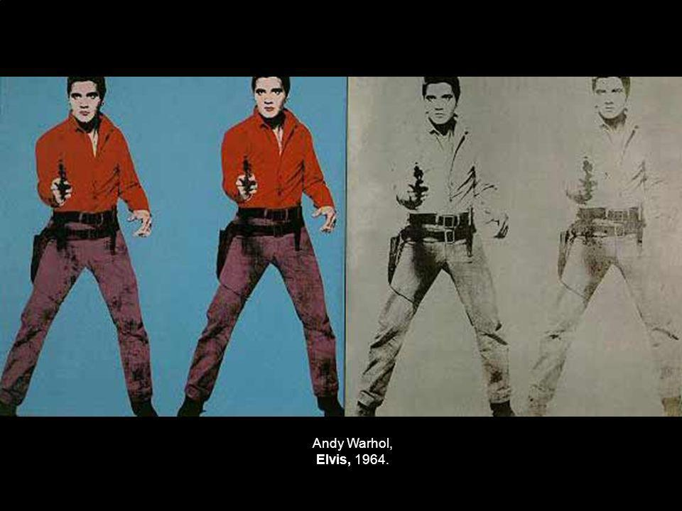 Andy Warhol, Elvis, 1964.