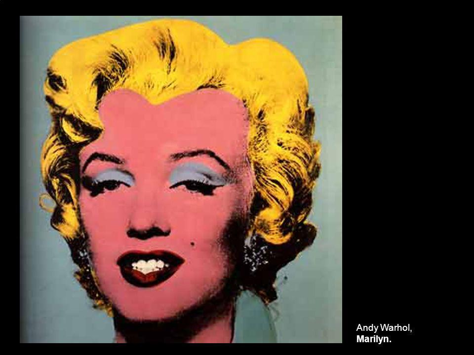 Andy Warhol, Marilyn.