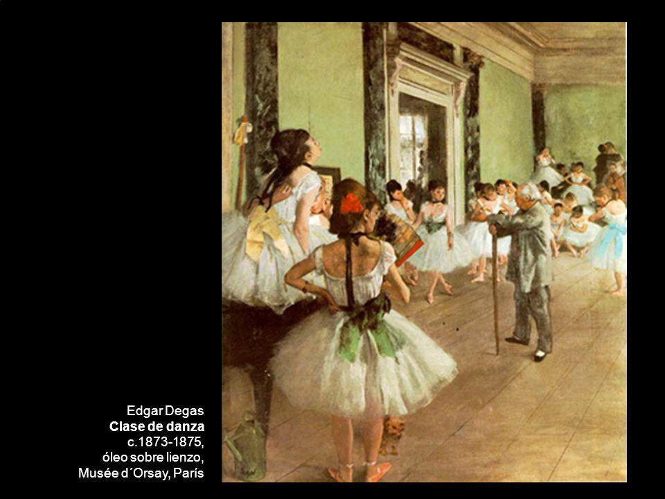 Edgar Degas Clase de danza c