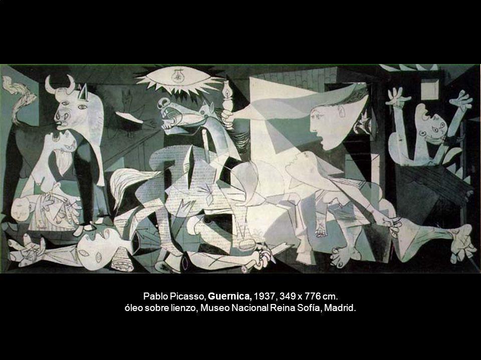 Pablo Picasso, Guernica, 1937, 349 x 776 cm