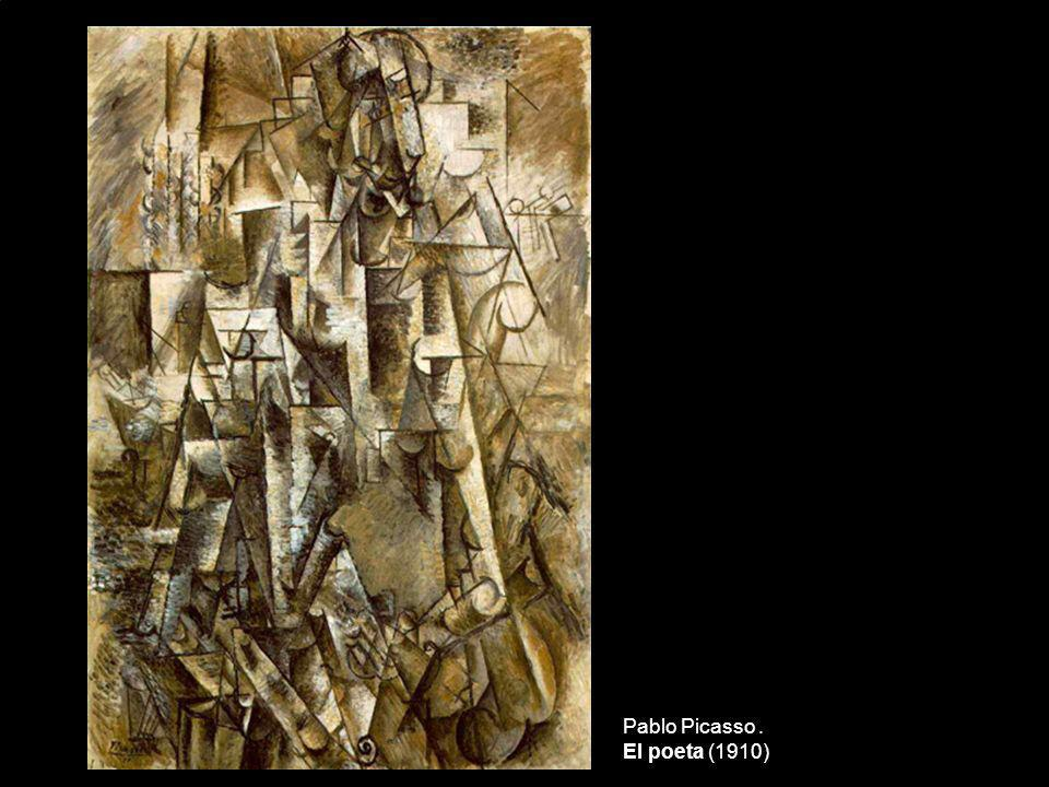 Pablo Picasso . El poeta (1910)