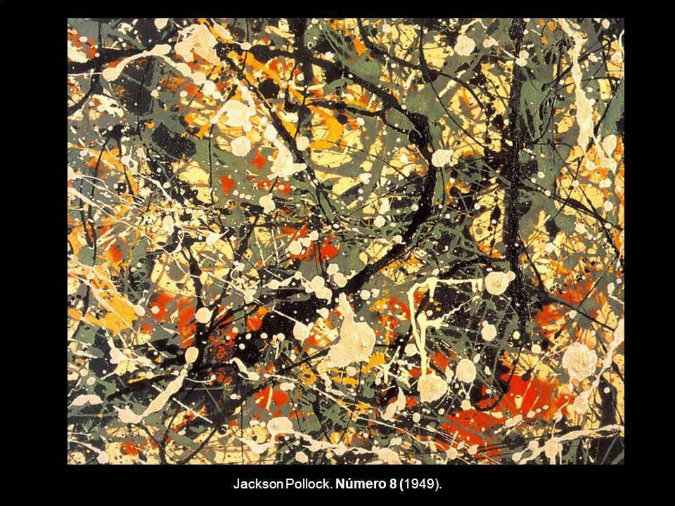 Jackson Pollock. Número 8 (1949).