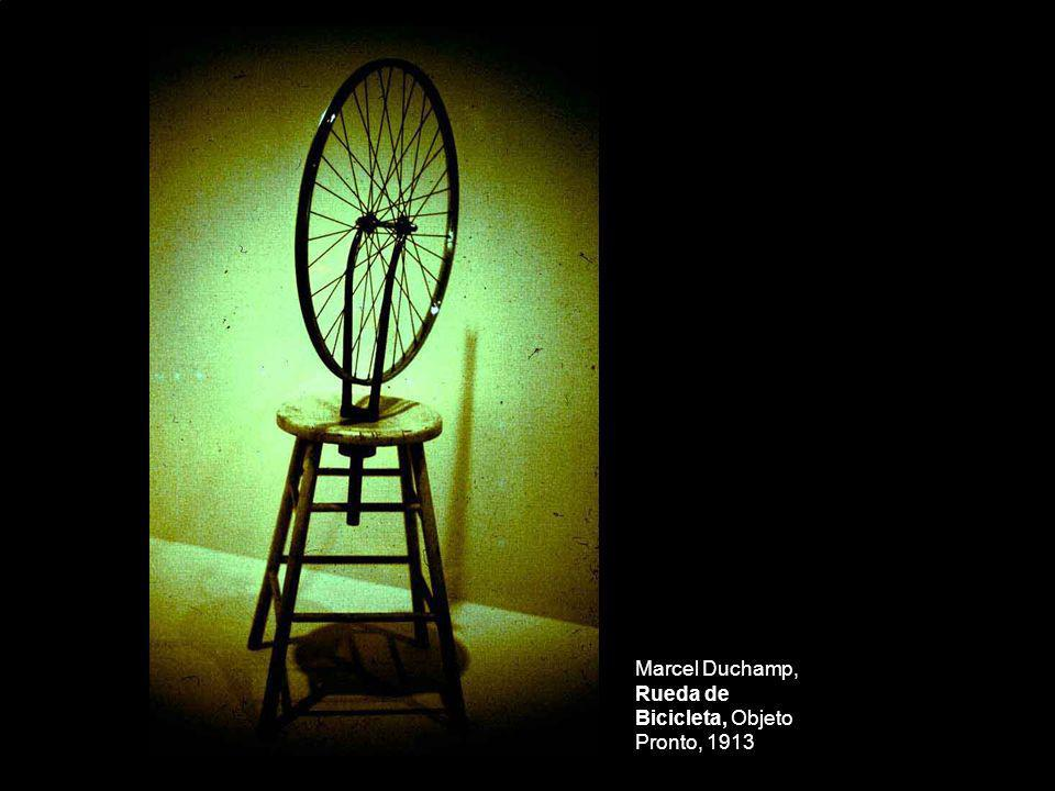 Marcel Duchamp, Rueda de Bicicleta, Objeto Pronto, 1913