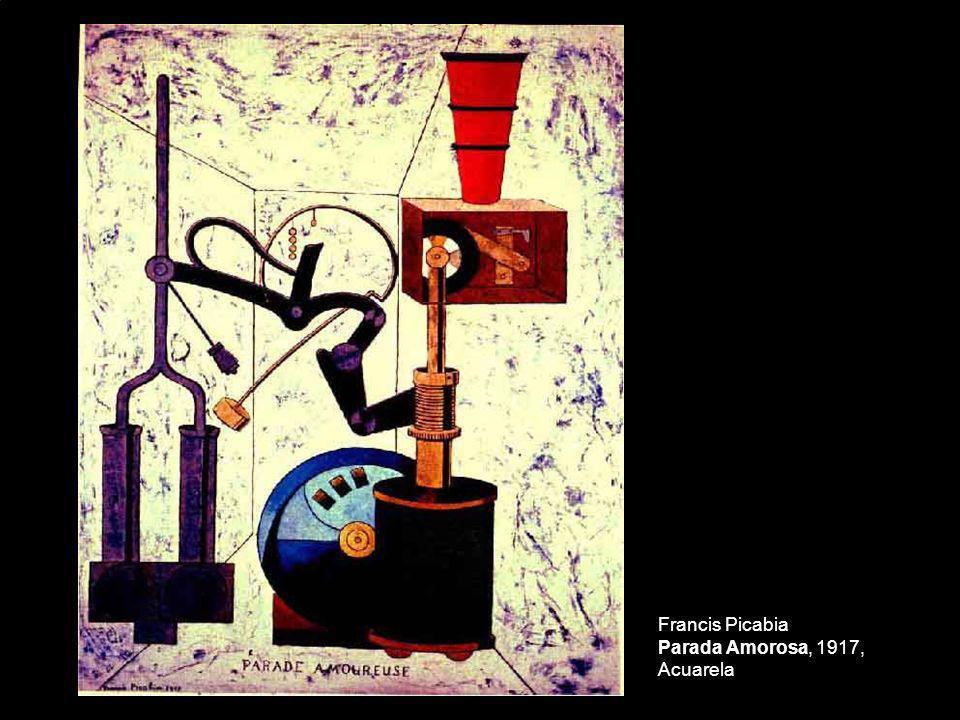 Francis Picabia Parada Amorosa, 1917, Acuarela