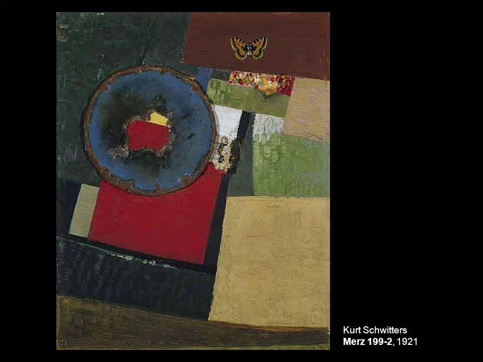 Kurt Schwitters Merz 199-2, 1921