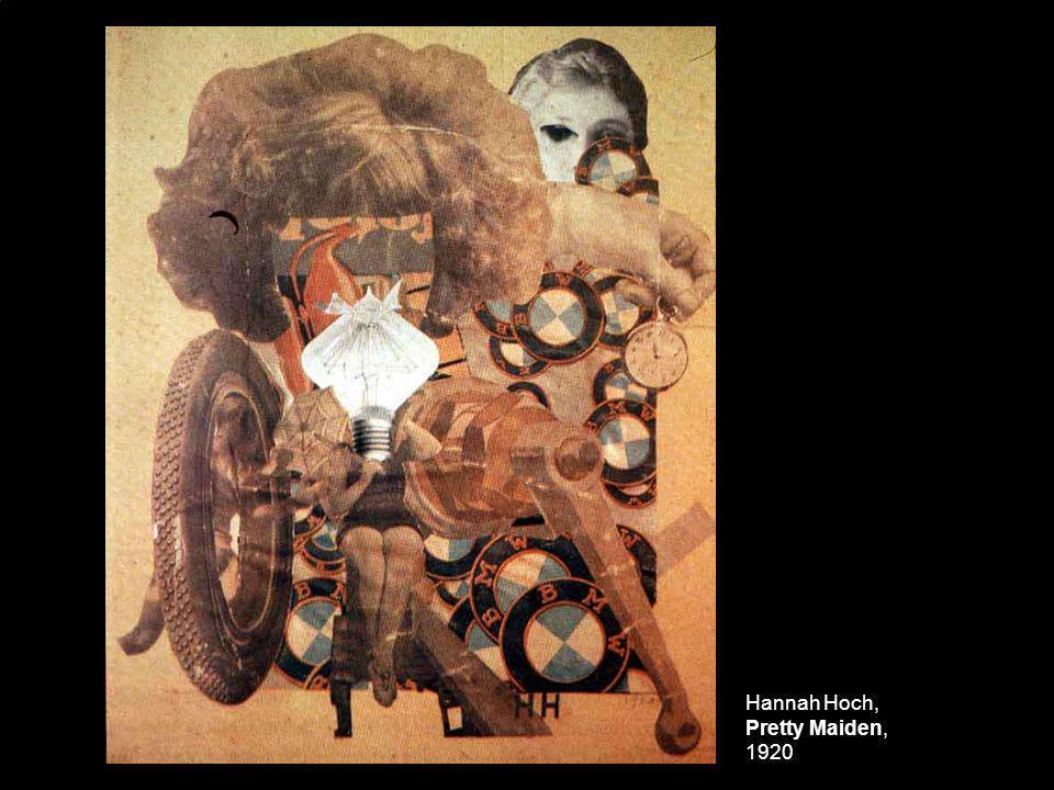 Hannah Hoch, Pretty Maiden, 1920