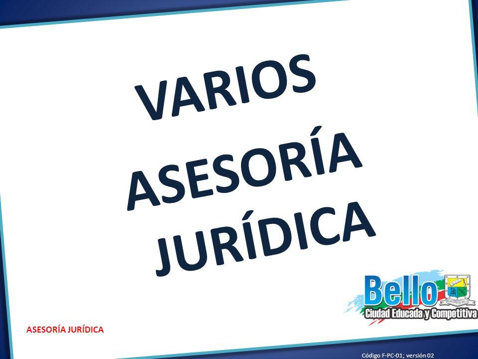 VARIOS ASESORÍA JURÍDICA