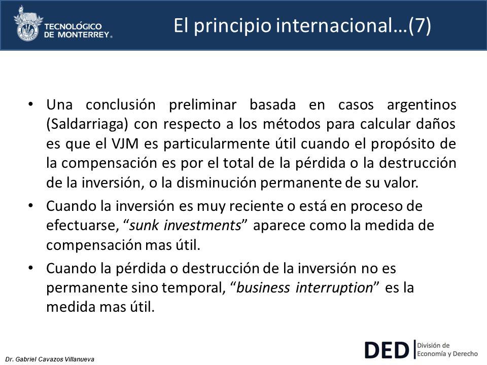 El principio internacional…(7)