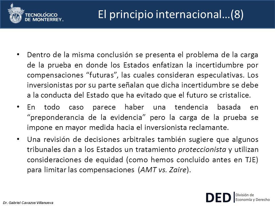 El principio internacional…(8)