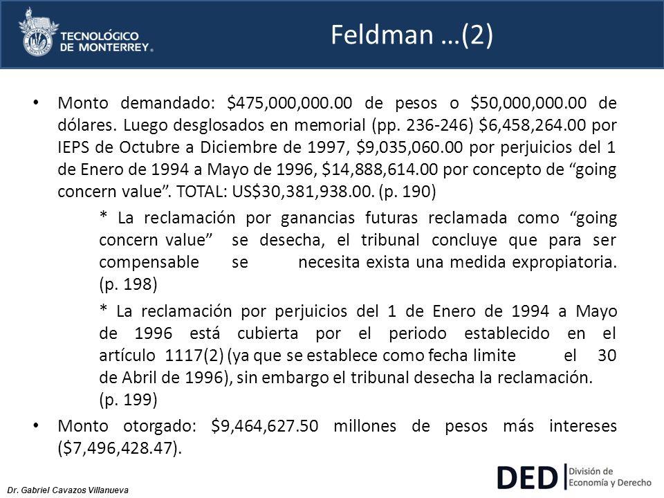 Feldman …(2)
