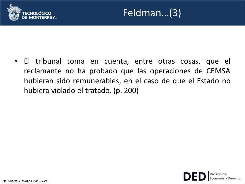 Feldman…(3)