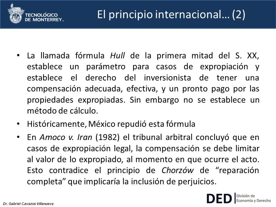 El principio internacional… (2)
