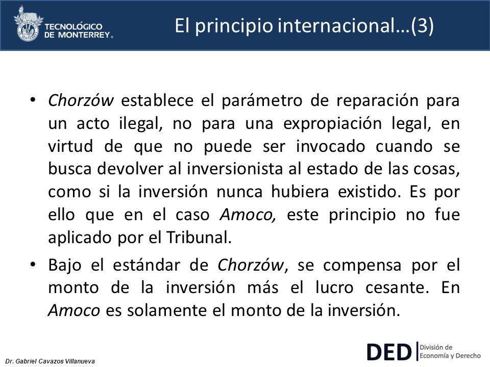El principio internacional…(3)