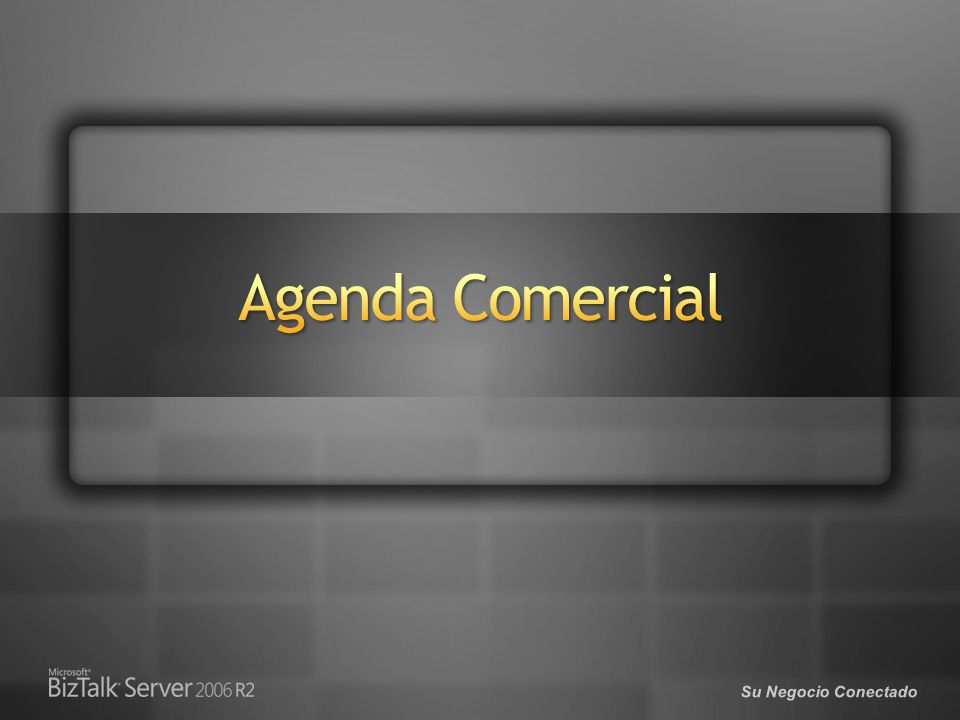 3/29/2017 Agenda Comercial. © 2005 Microsoft Corporation. All rights reserved.