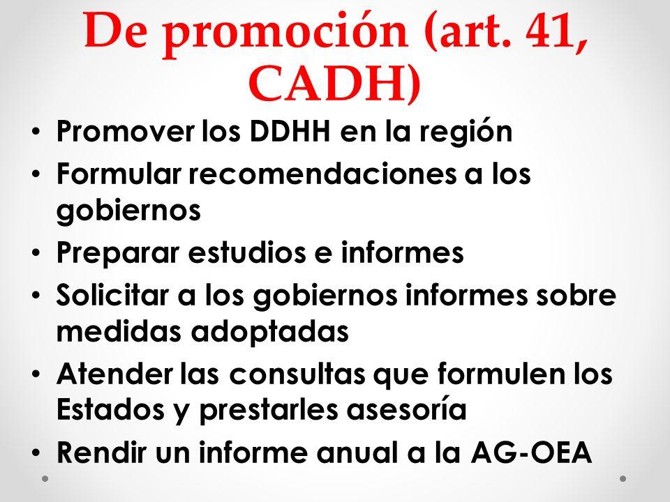 De promoción (art. 41, CADH)