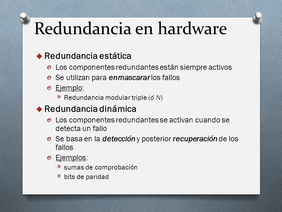 Redundancia en hardware