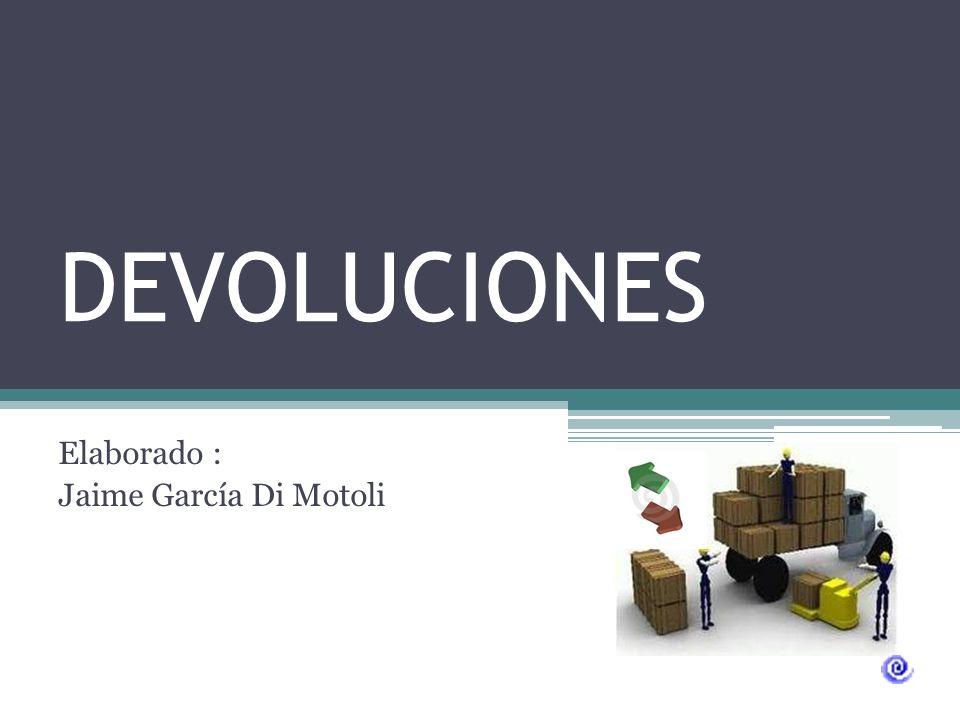 Elaborado : Jaime García Di Motoli