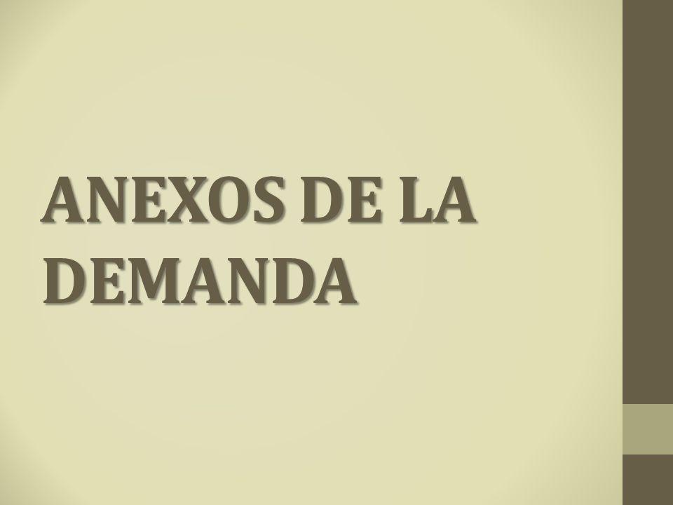 ANEXOS DE LA DEMANDA