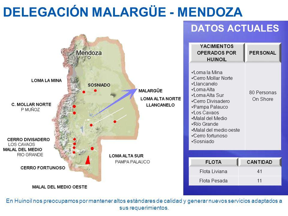 DELEGACIÓN MALARGÜE - MENDOZA