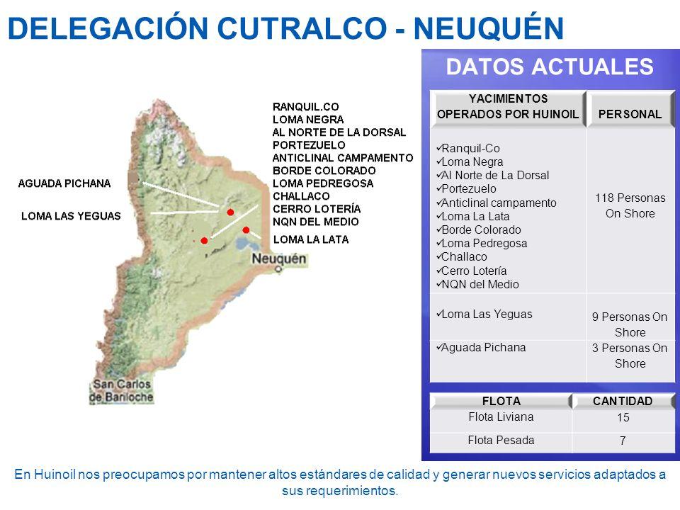 DELEGACIÓN CUTRALCO - NEUQUÉN