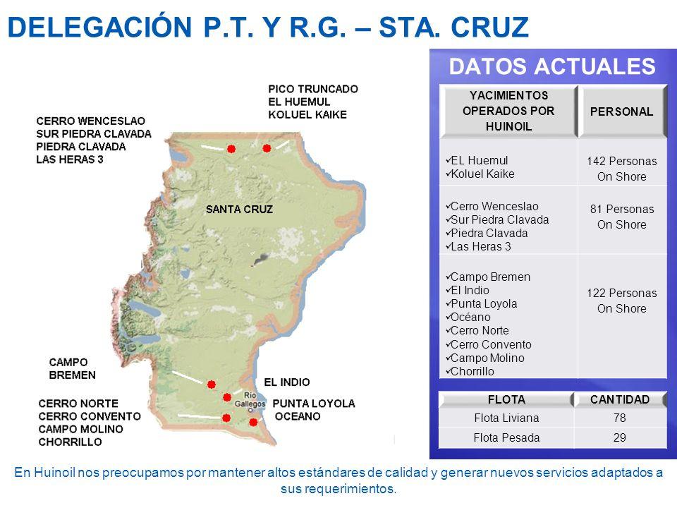 DELEGACIÓN P.T. Y R.G. – STA. CRUZ