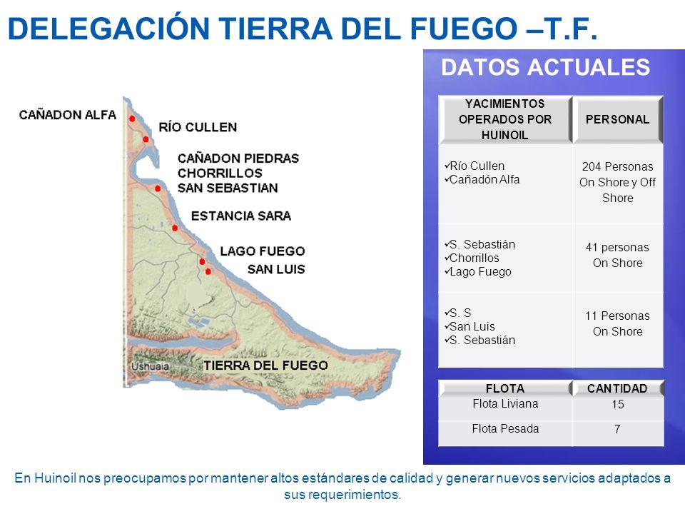 DELEGACIÓN TIERRA DEL FUEGO –T.F.